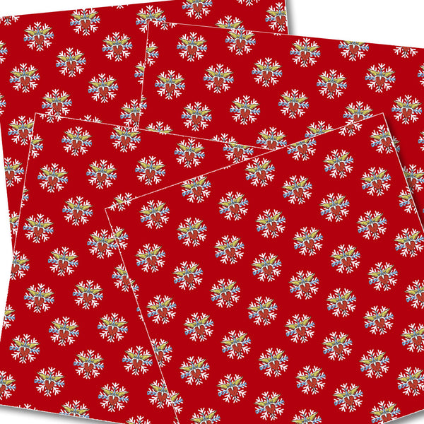 Official Bon Jovi Holiday Wrapping Paper (10pcs)