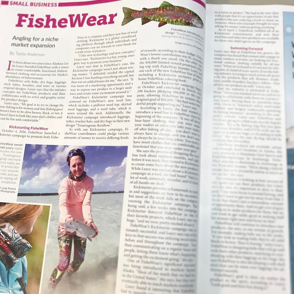Fishe Featured in Alaska Business Monthly!