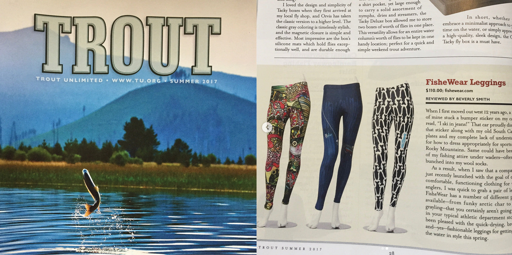 Fishe® in TROUT Magazine!