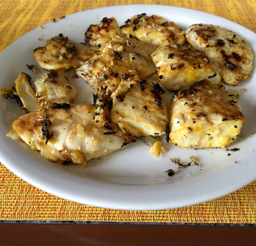 Parmesan-Halibut Cheeks Recipe