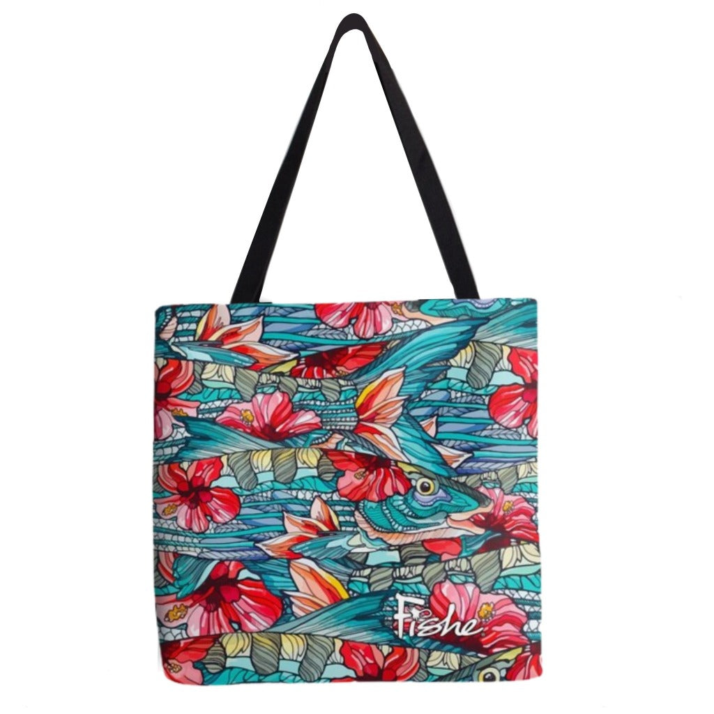 Beauty and the Bonefish Tote