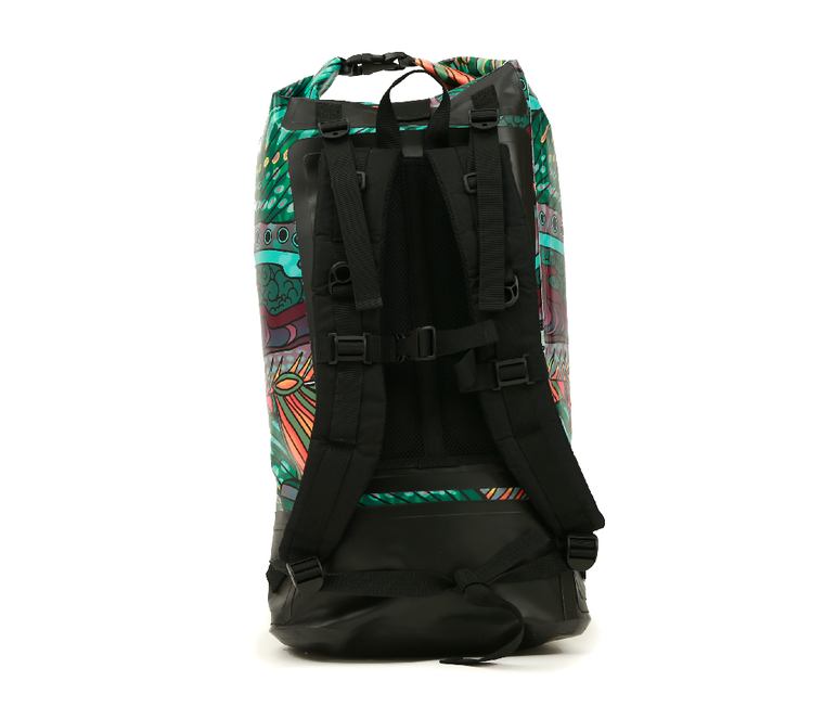 Dry Bag Backpack - Groovy Grayling