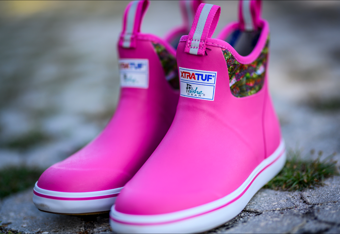 "Troutrageous Rainbow 6"" Ankle Deck Boot"