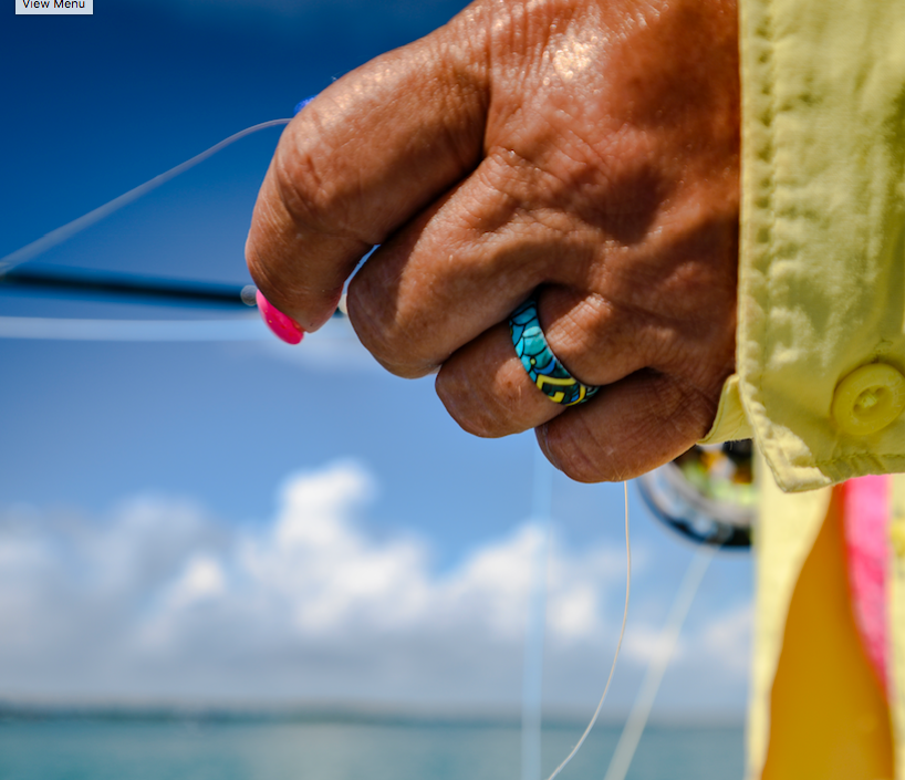 Totally Tarpon Groove Ring