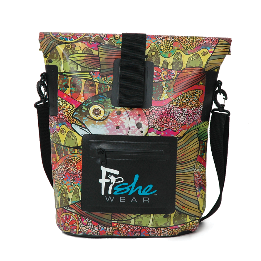 Troutrageous Rainbow Dry Bag