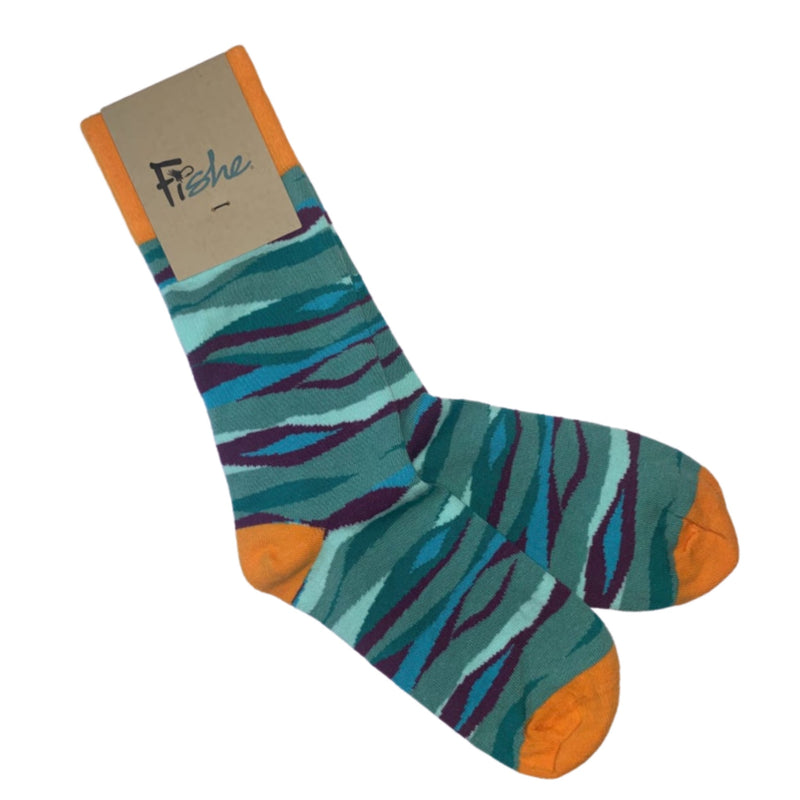 Fishe Socks - Groovy Grayling