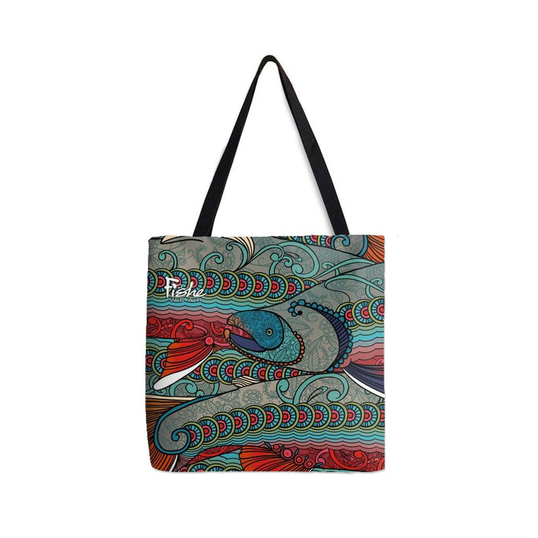 Tote- Abstract Char Design