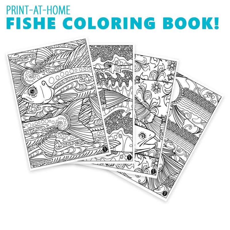 2016 Fishe Coloring Book!