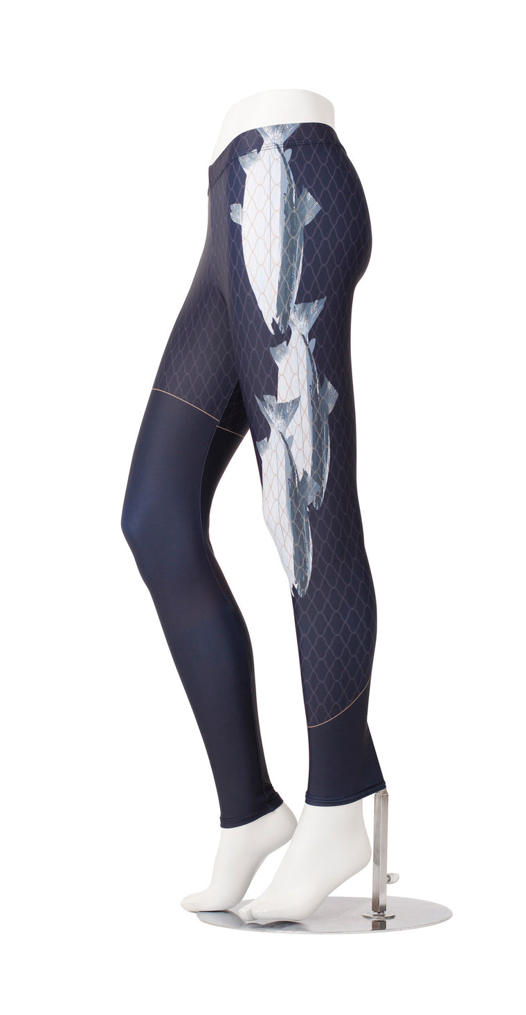 Fish in the Net Leggings