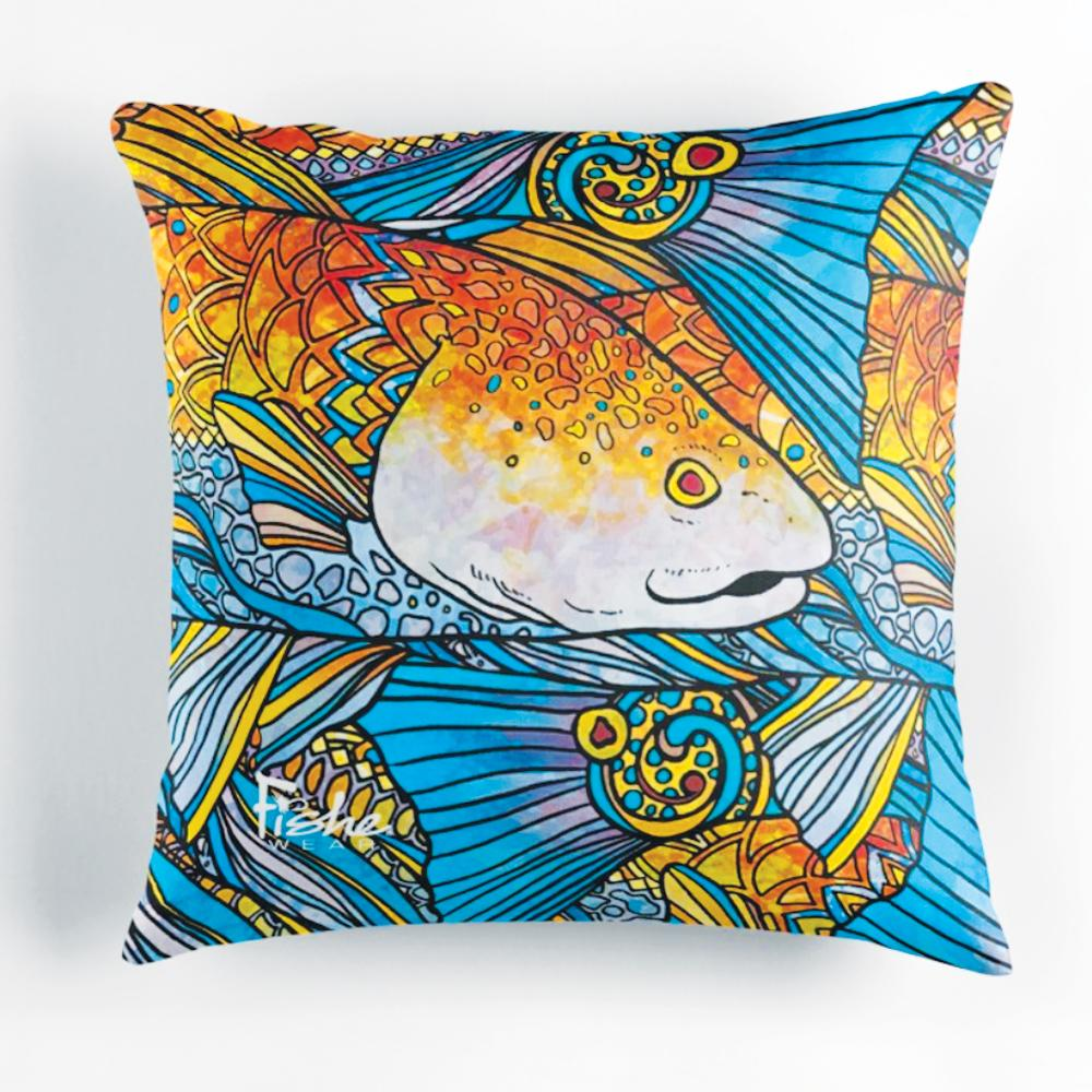 Radical Redfish Pillow