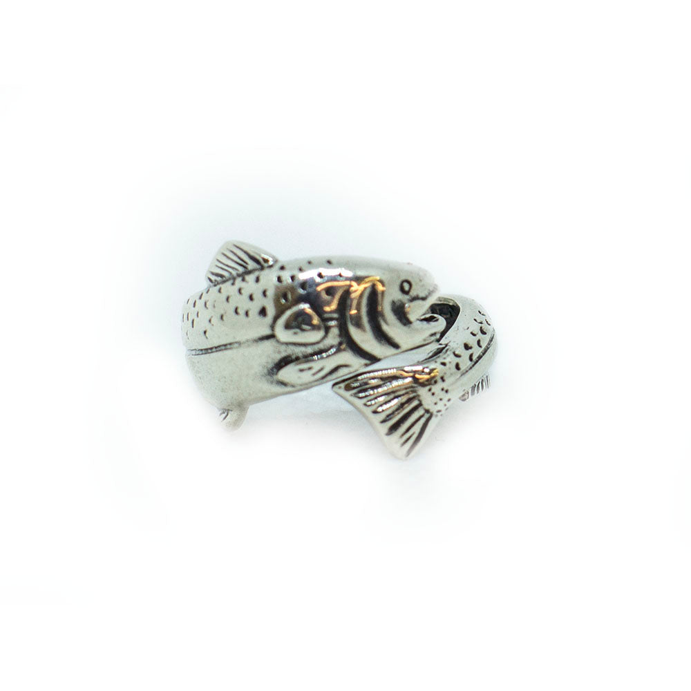 Silver Fishe Fish Ring