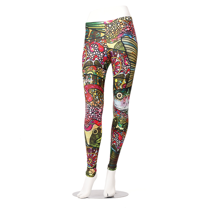 Troutrageous Rainbow Leggings