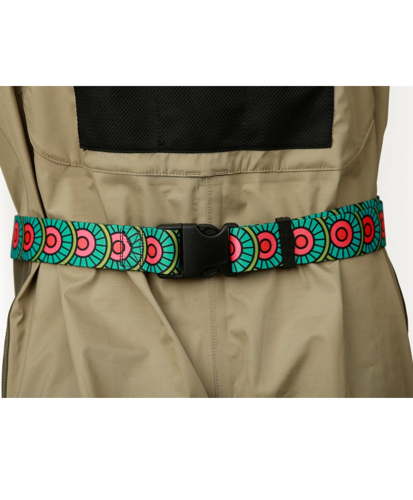 Abstract Char Wading Belt