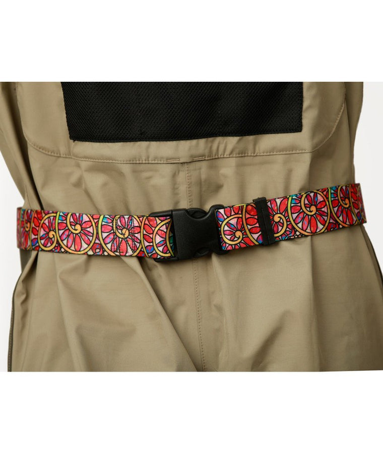 Troutrageous Rainbow Wading Belt