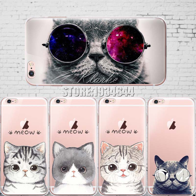 Soft Silicone IPhone Cat Cases