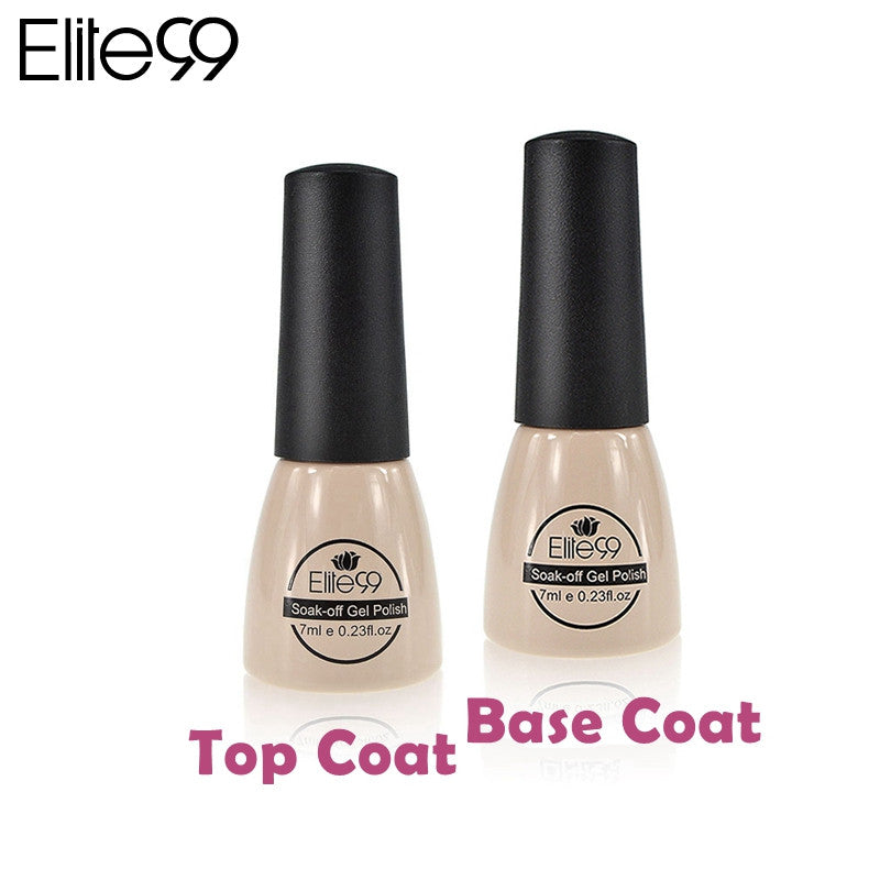 Nail Polish With Base Coat And Top Coat - To Bend Light