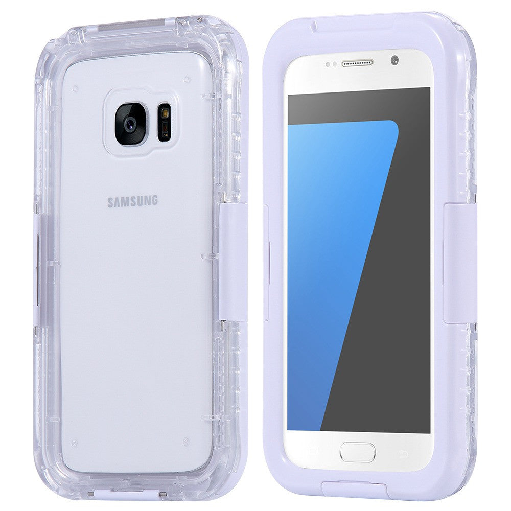 buy online 156c8 b2caf Waterproof Cell Phone Case for Samsung Galaxy