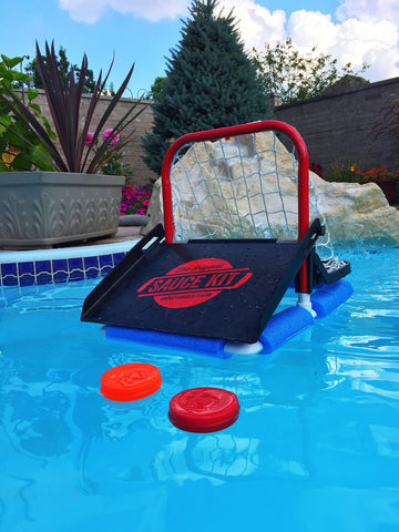 Original Hockey Water Kit (Attachment + 8 Floating Pucks)