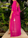 Goddess Coverup Magenta
