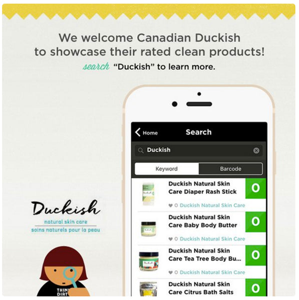 Duckish Think Dirty App Image