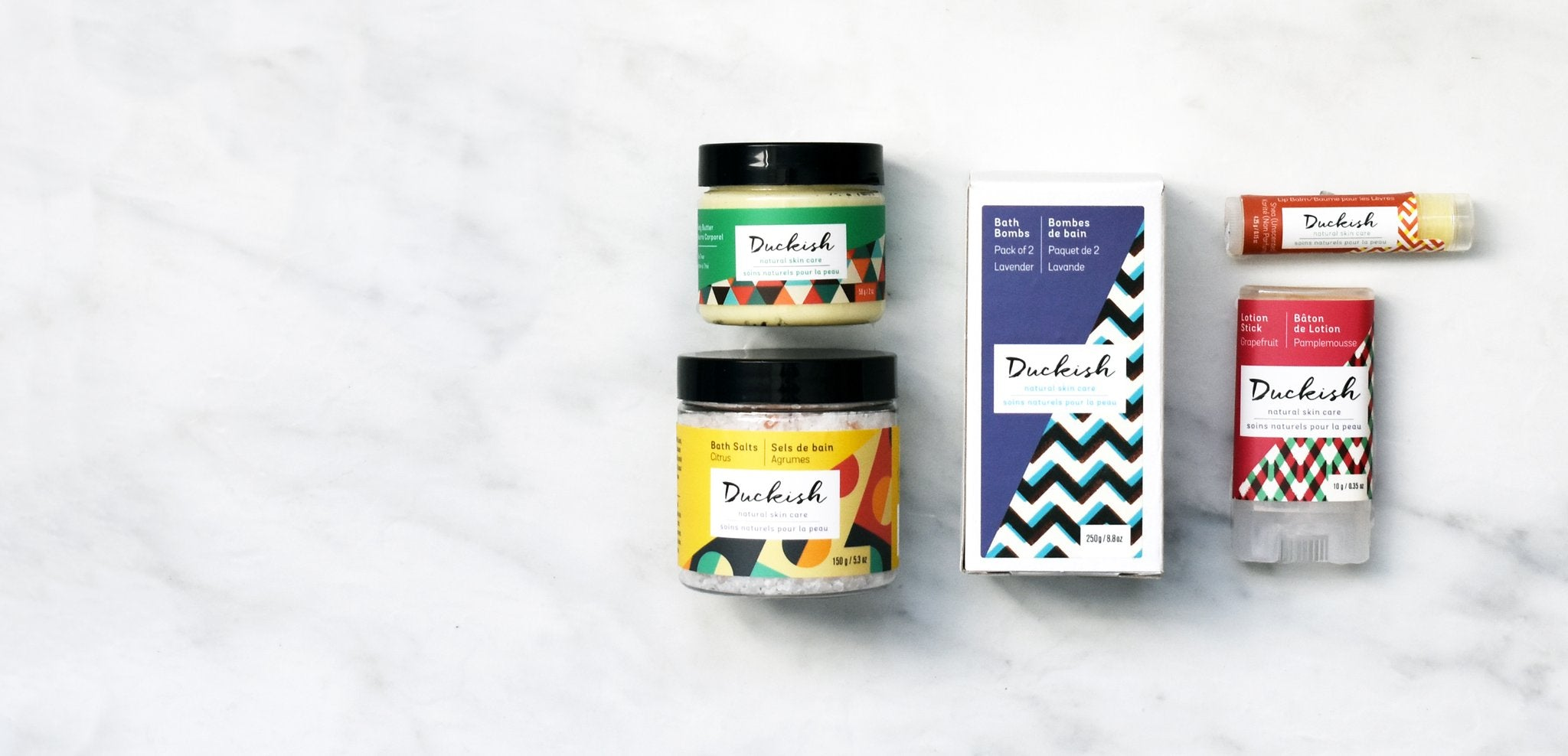 Bath and Body Gift Sets | Duckish Natural Skin Care