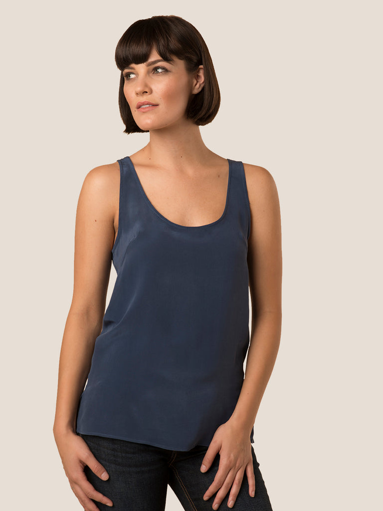 guiliana top - med blue