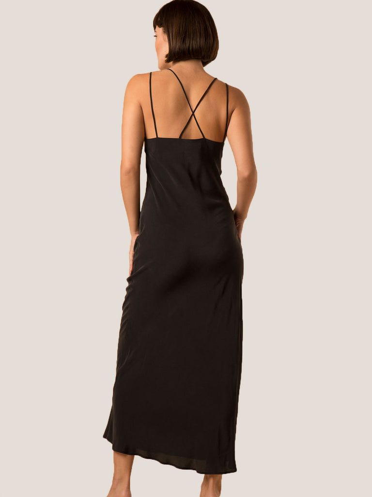 ariana dress - black