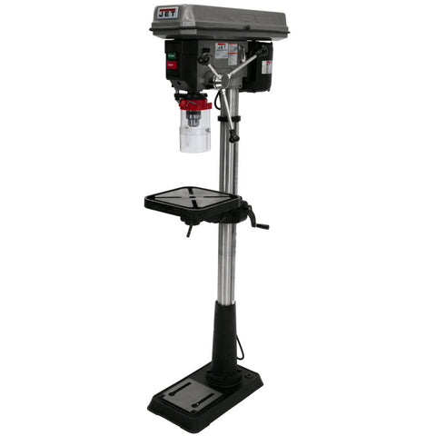 "Jet 354400 J-2500, 15"" Floor Model Drill Press 115V 1PH"