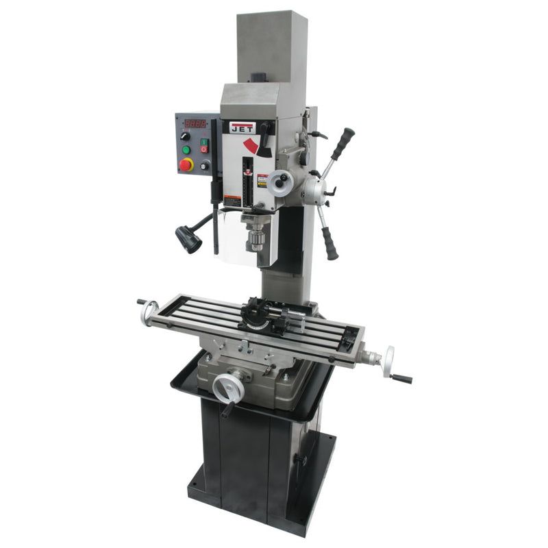 Jet 351051 JMD-45VSPFT Variable Geared Square Column Mill, Downfeed