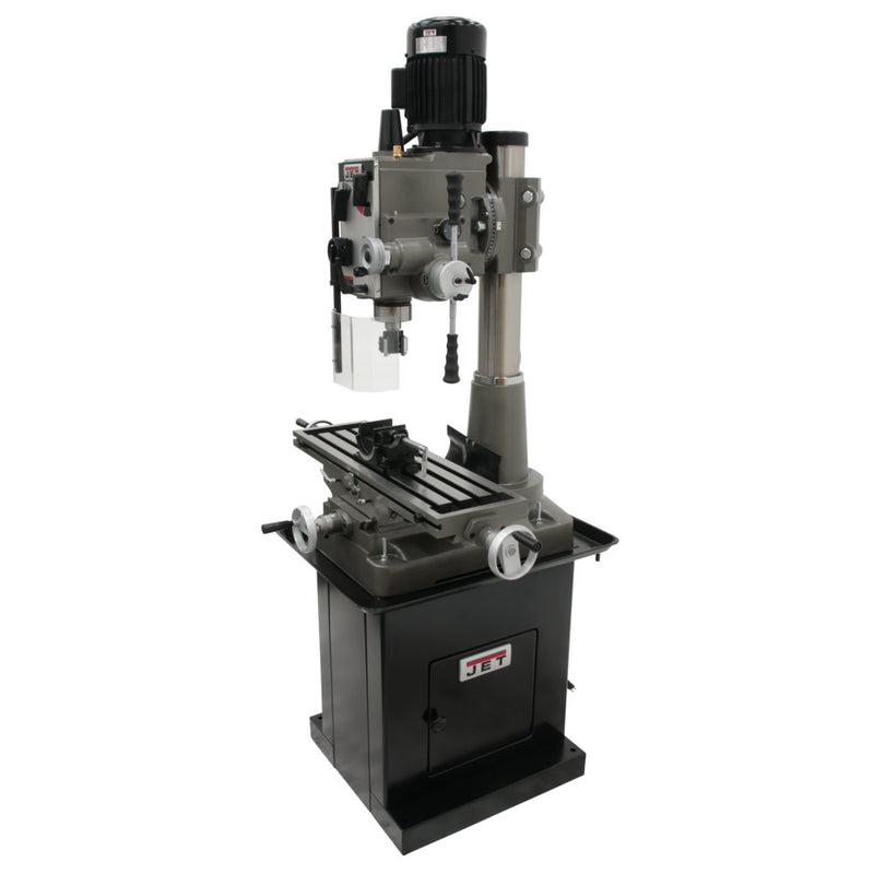 Jet 351153 JMD-45GHPF Square Column Mill Drill Downfeed DP700, XFeed
