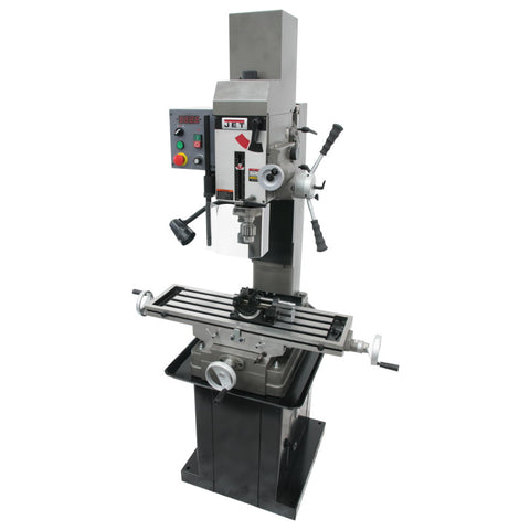 Jet 351156 JMD-45VSPFT Square Column Mill, Downfeed, Newall DP700