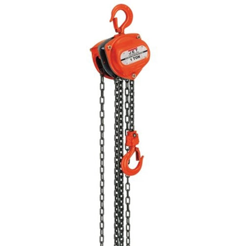Jet 101707 SMH-1T-30 1 Ton Hand Chain Hoist with 30' Lift