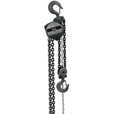 Jet 101942 S90-300-20, 3-Ton Hand Chain Hoist With 20' Lift