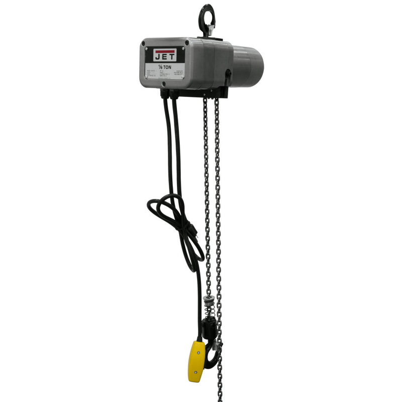 Jet 110100 JSH-275-10 1/8-Ton Electric Chain Hoist 1-Phase 10' Lift