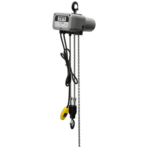 Jet 110520 JSH-550-20 1/4-Ton Electric Chain Hoist 1-Phase 20' Lift