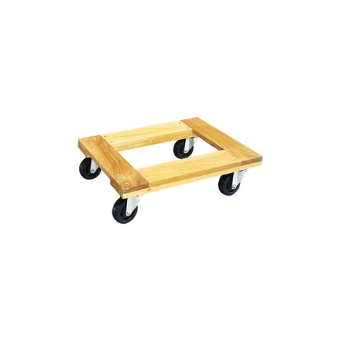 "Jet 140100 WDF-2416 24"" X 16"" Wood Dolly Open Style Flush End"