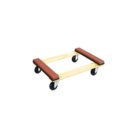 "Jet 140108 WDR-3018 30"" X 18"" Wood Dolly Rubber End"