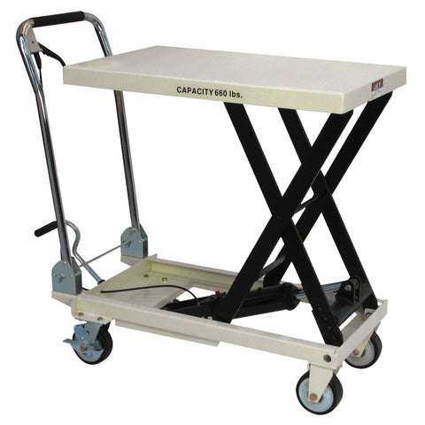 Jet 140777 SLT-660F, Scissor Lift Table With Folding Handle