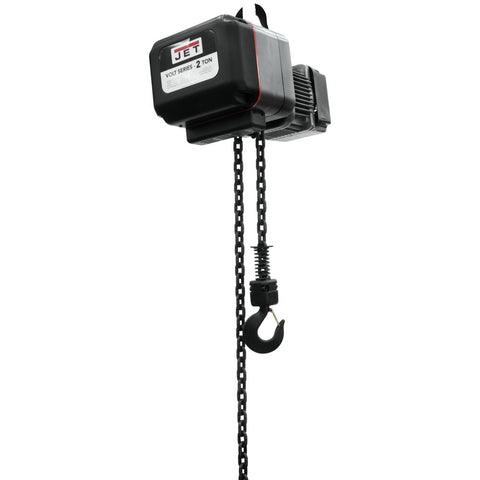 Jet 180211 Volt 2T Variable Speed Electric Hoist 3PH 460V 10' Lift