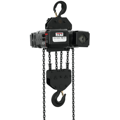 Jet 181020 Volt 10T Variable Speed Electric Hoist 1PH/3PH 230V 20' Lift