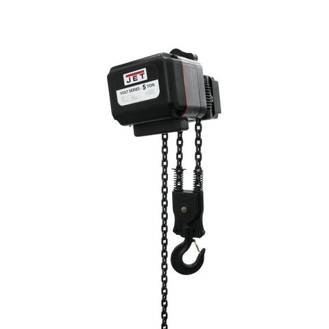 Jet 181520 Volt 5T Variable Speed Electric Hoist 1PH/3PH 230V 20' Lift