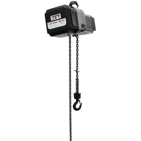 Jet 185016 Volt 1/2T Variable Speed Electric Hoist 3PH 460V 15' Lift