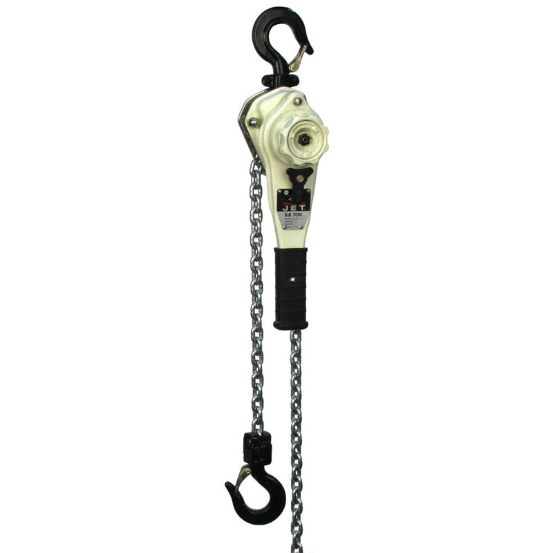 Jet 235010 JLH-160-10SH, 1-1/2-Ton Lever Hoist With 10' Lift and Ship Yard Hooks