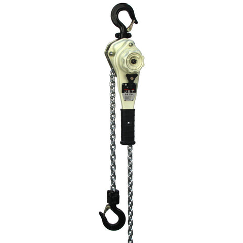 Jet 235015 JLH-160-15SH, 1-1/2-Ton Lever Hoist With 15' Lift and Ship Yard Hooks