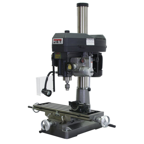 Jet 350120 JMD-18PFN Mill/Drill With ACU-RITE VUE DRO and X-Axis Table Powerfeed
