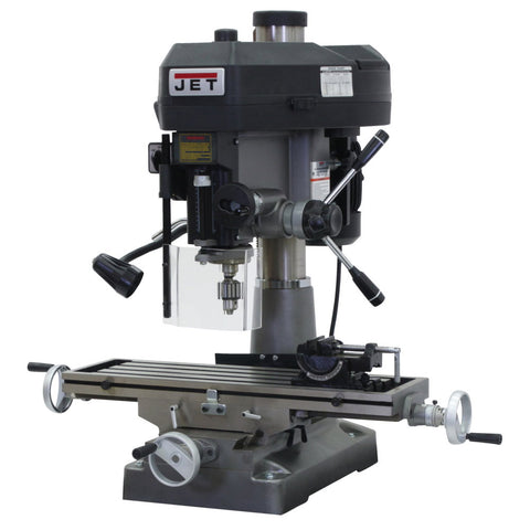 Jet 350127 JMD-18 Mill/Drill With Newall DP700 DRO and X-Axis Table Powerfeed
