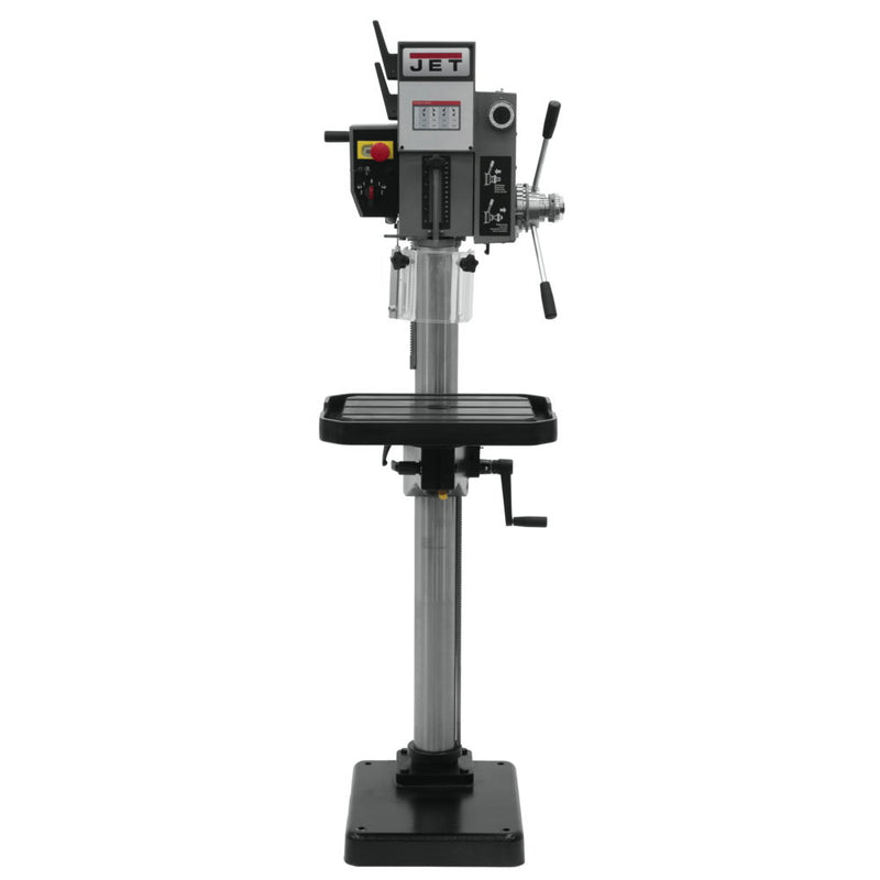 "Jet 354030 J-A2608M-PF2, 20"" Arboga Gear Head Drill Press, Down Feed 220V, 3PH"