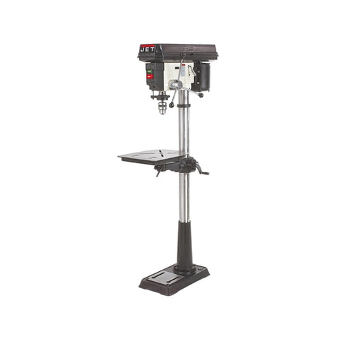 "Jet 354166 JDP-15MF: 15"" Floor Mount Drill Press, 3/4HP, 16 Speed"