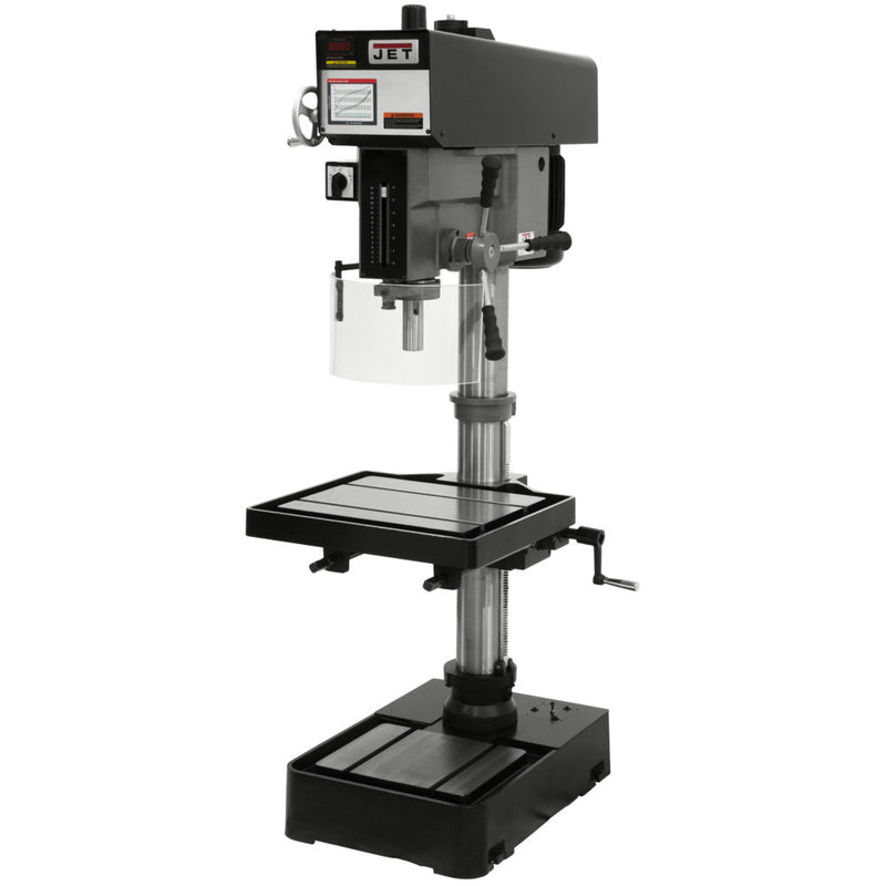 "Jet 354221 J-2221VS,20"" Variable Speed Drill Press 115/230V 1PH"