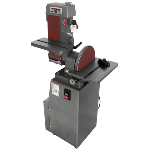 "Jet 414551 J-4200A 6"" x 48"" Industrial Belt and Disc Finishing Machine 115V 1PH"